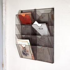 Porte document retro déco comme étagères design